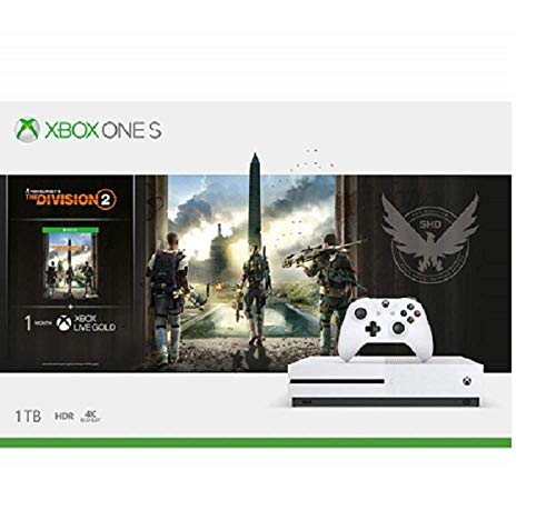 Microsoft Xbox One S 1TB Console - Tom Clancy's the Division 2 Bundle