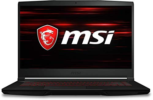 MSI GF63 Intel Core i5 8th Gen 15.6-inch Gaming FHD Thin and Light Laptop (8GB/1TB HDD/Windows 10/4GB Graphics/Black/1.86 Kg), GF63 8RC- 211IN