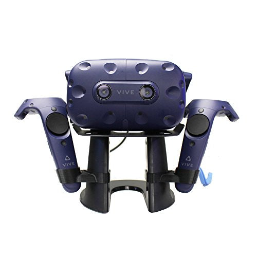 AMVR VR Stand/Station,VR Headset Display Holder for Placing HTC Vive or Pro Headset with Controllers