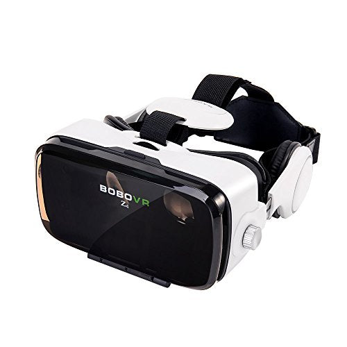 BOBOVR Z4 Upgraded Vr Version Helmet 3D Virtual Reality Head-Mounted Glasses 120° Fov Headphone for iPhone 6/6 Plus iPhone 7 / 6S Plus Samsung S8 / S8 Plus Samsung Galaxy Android iOS Smartphone