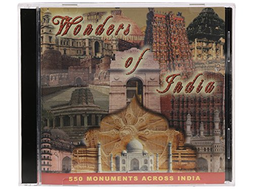 Zeus - WONDERS OF INDIA CD- FUN & LEARNING WITH 550 MONUMENTS ACROSS INDIA