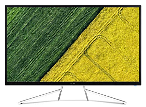 Acer ET322QK 31.5 inch 4K UHD VA Panel LED Backlit Computer Monitor - 3840x2160 Resolution 300 Nits 4MS 2 X HDMI DP Port 2W, 2 Speakers