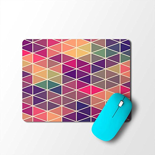 100yellow Mosaic Designer Gaming Mouse Pads for Laptop and Computer