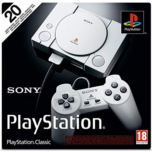 Sony PlayStation Classic(IMPORTED) With 20 Pre-Loaded Games