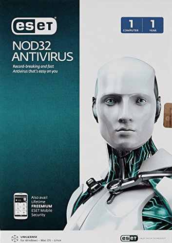 Eset NOD32 Anti-Virus Version 8 (2014) - 1 PC, 1 Year (CD)