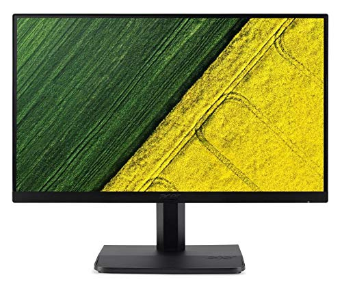 Acer 22 inch (55.88 cm) Monitor - IPS Full HD, VGA, HDMI Port, Zero Frame Design - ET221Q (Black)