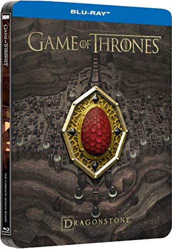 Game of Thrones: The Complete Season 7 (Steelbook) + Conquest & Rebellion + Collectible Magnet + Foil Slipcase Packaging