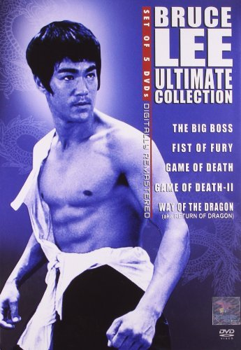 Bruce Lee Ultimate Collection (Set of 5 DVD's)-The Big Boss, Fist Of Fury, Game Of Death, Game Of Death-Ii, Way of the Dragon