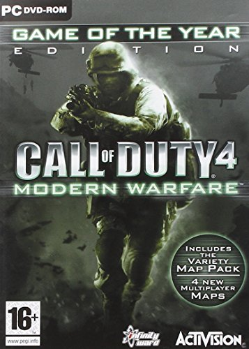 Call of Duty 4 Modern Warfare GOTY (PC DVD)