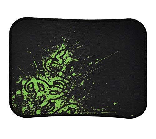 RIATECH Mouse Pad with Stitched Edges, Non-Slip Rubber Base, Mouse Pad for Computers, Laptop, Office & Home, (29 x 25 x 0.2 cm) (Side Dragon Design)