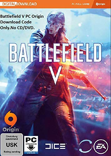 Battlefield V Origin PC Download Code (No CD/DVD) Battlefield 5 PC Download Code