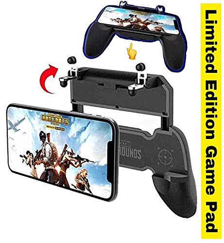 Reiz PUBG Ultra Quality L1 R1 Dual Gamepad Trigger with Fire Shooter Controller Button, Aim Key Mobile Gaming Joystick Console, PUBG/Knives Out/Rules of Survival (All Smartphones)