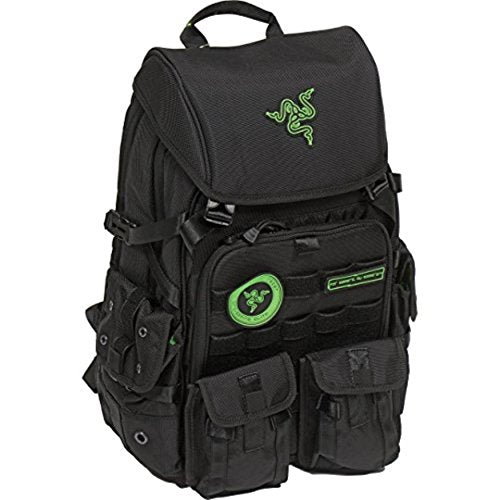 Razer Tactical Pro Gaming Backpack For Laptops Up To 17.3 Inches Water-Repellent