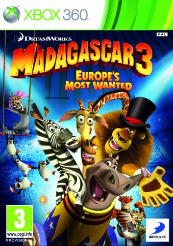 Madagascar 3: The Video Game (Xbox 360)