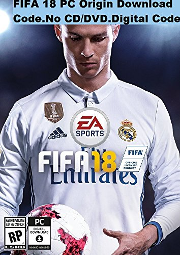 FIFA 18 PC Origin Download Code (No CD/DVD) FIFA 18 PC Digital Code