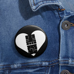 Black Love Pin