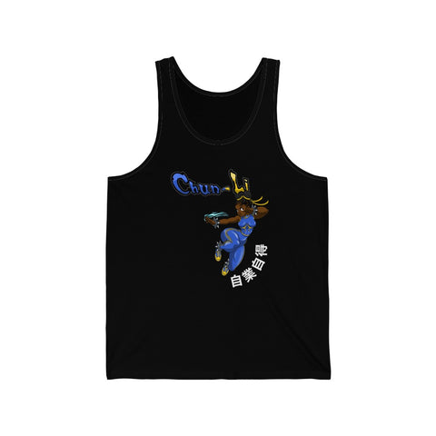 "@oliverbanksart ""Chun Li"" Summer Tank Top"