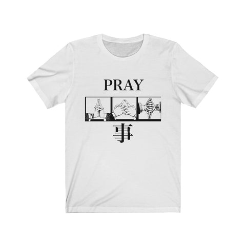 """Pray by Action"" Collab Tee"