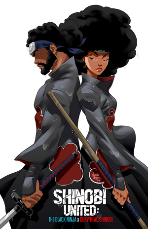 "@the.blackninja x Juaso ""Shinobi United"" Poster"