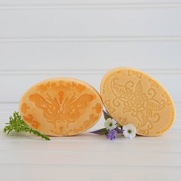 Blood Orange Shampoo and Conditioner Bars
