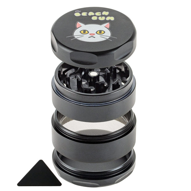 BEACH BUM BLACK CAT 55MM 3 STAGE GRINDER