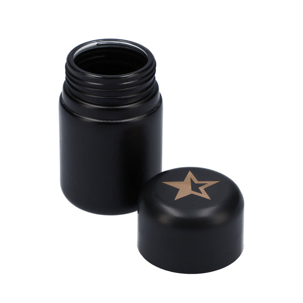 Famous Design Stash Jar Black