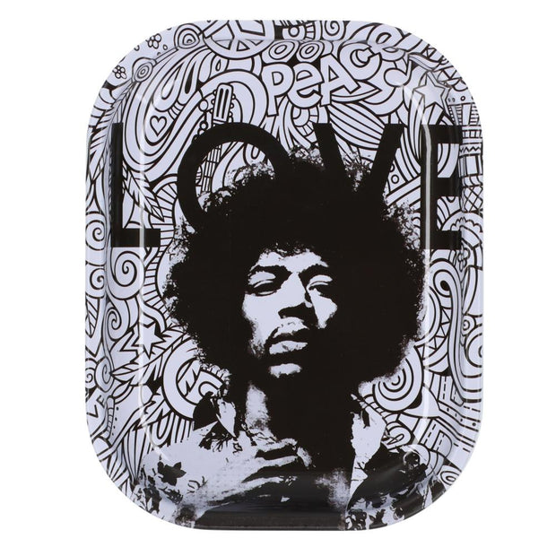 Rock Legends Jimi Love Rolling Tray