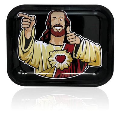 BUDDY CHRIST ROLLING TRAY