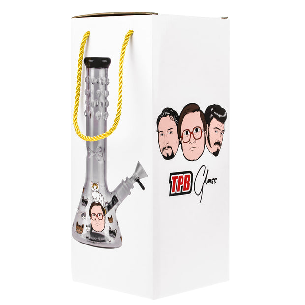 TRAILER PARK BOYS KITTY LOVE 12 IN BEAKER WATER PIPE