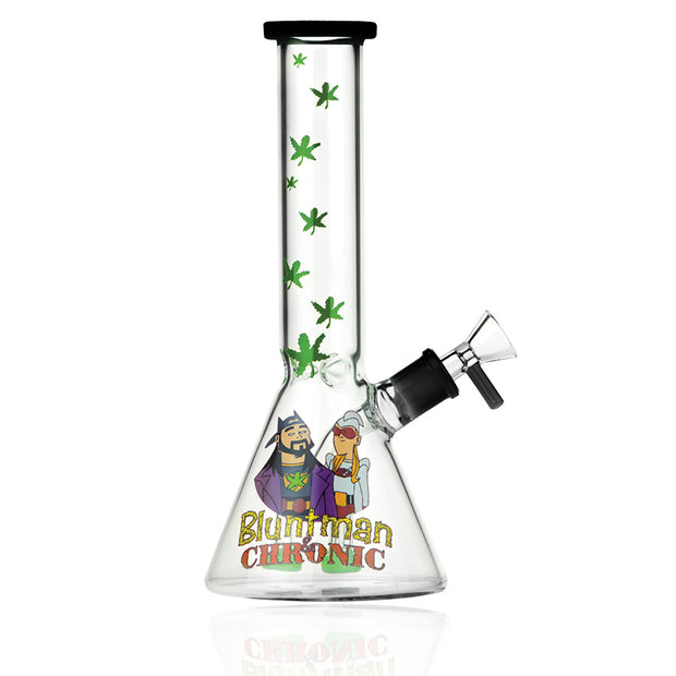JAY & SILENT BOB BLUNTMAN & CHRONIC 10 IN BEAKER WATER PIPE