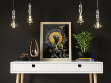"Load image into Gallery viewer, ""Black Madonna & Golden Child"""