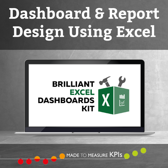 Dashboard & Report Design Using Excel - On Demand (4 CPD Hours)