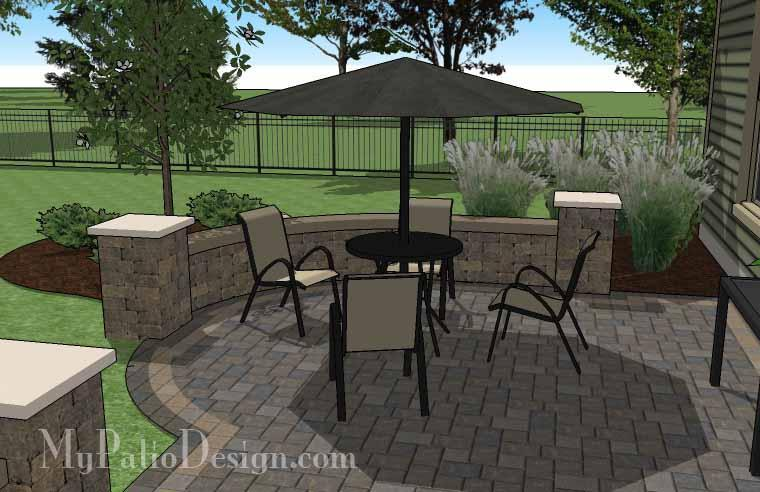 Paver Patio #04-031001-01