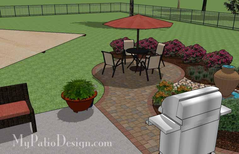 Paver Patio #A-018501-01
