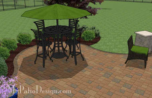 Paver Patio #S-042001-02