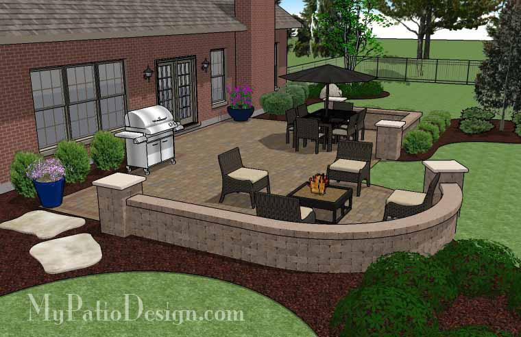 Paver Patio #S-066001-01