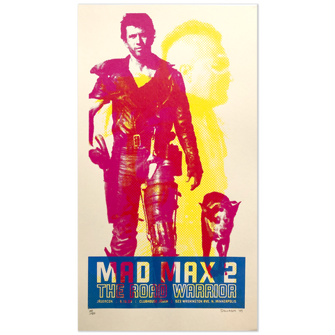 Mad Max 2/The Road Warrior - Movie poster