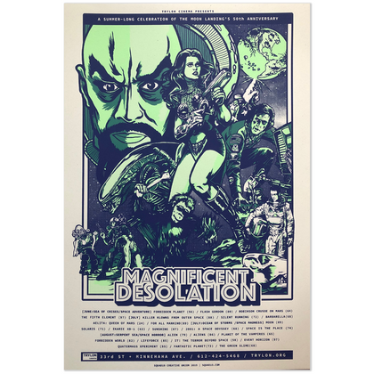 Magnificent Desolation - Movie poster
