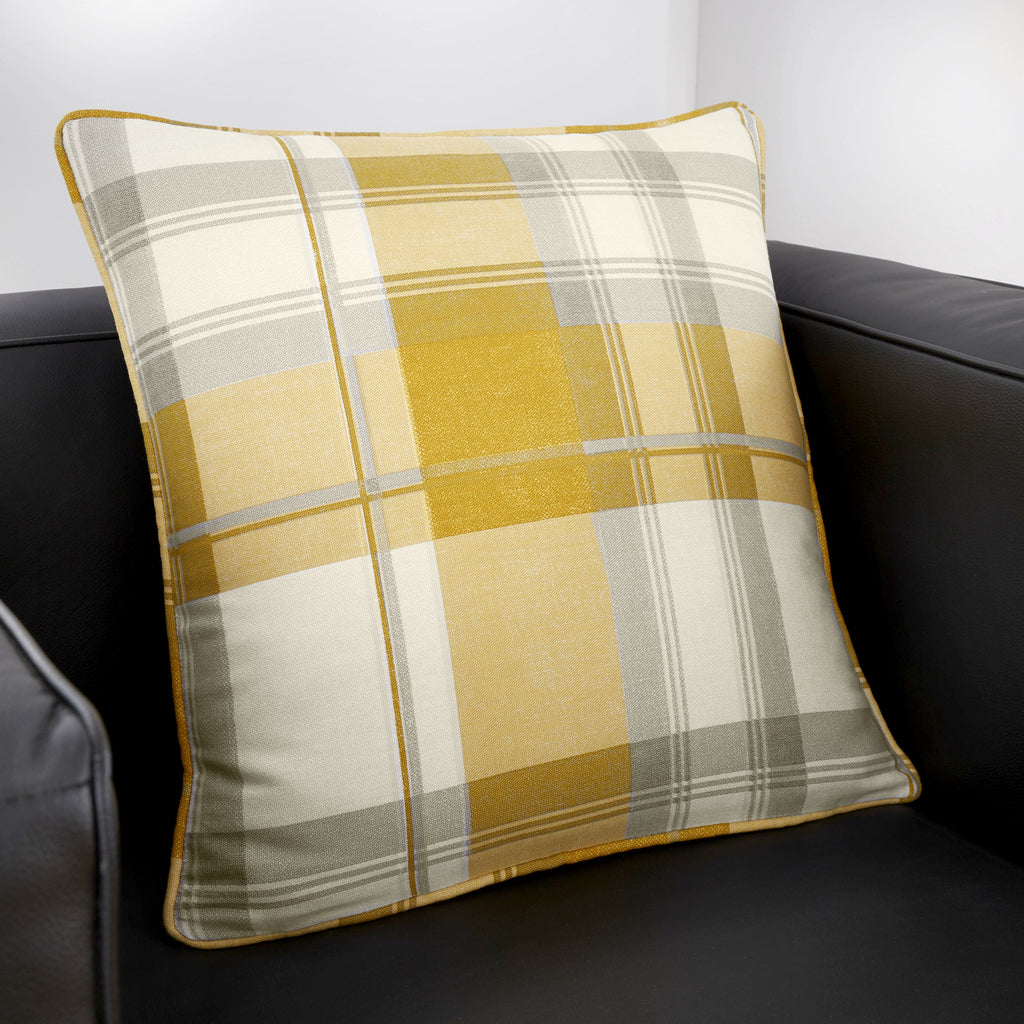 Balmoral Check - Filled Square Cushion - by Fusion