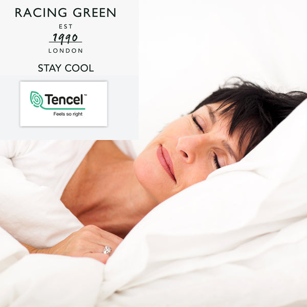 Stay Cool -  Tencel & Cotton Fitted Sheets / Pillowcases by Racing Green