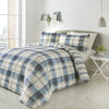 Balmoral 	Blue - Easy Care Duvet Cover Set - By Fusion