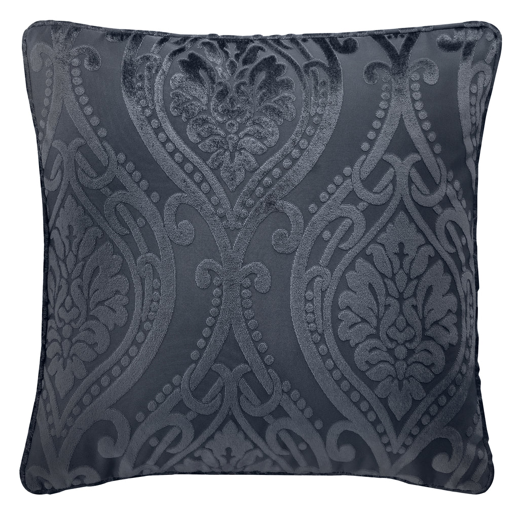 Chateau - Damask Jacquard Filled Square Cushion - by Curtina