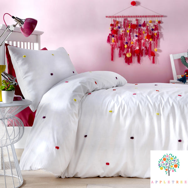Chester Kids - 100% Cotton Duvet Cover Set by Appletree Kids