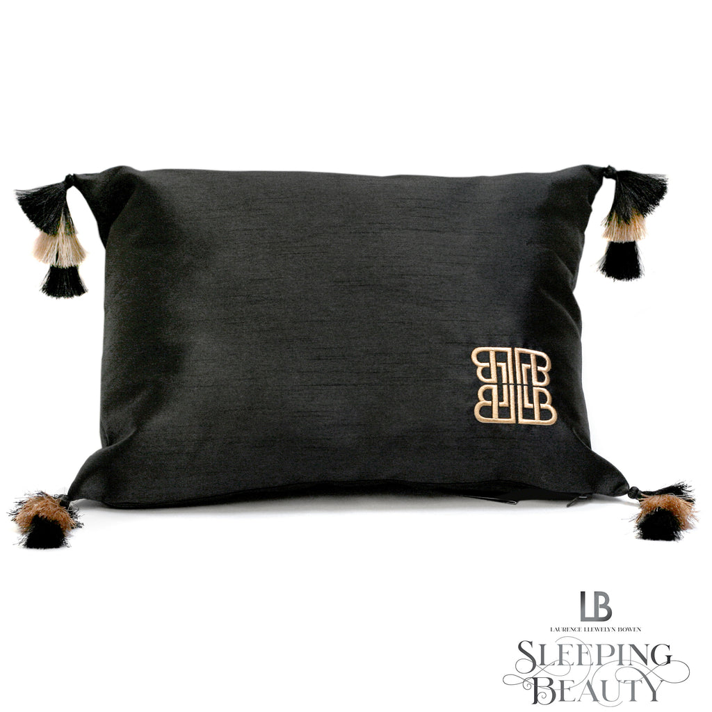 Concierge Tasselled Cushion - by Laurence Llewelyn-Bowen