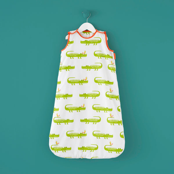 Crocodile Smiles - Baby Sleeping Bag by Cosatto