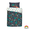 Dragon Kingdom - 100% Cotton Duvet Set & Curtains - Cosatto