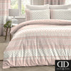 Elodi Blush - Easy Care Floral Bedding & Curtains - by Dreams & Drapes