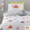 Fairy Clouds - 100% Cotton Duvet Set / Curtains - by Cosatto