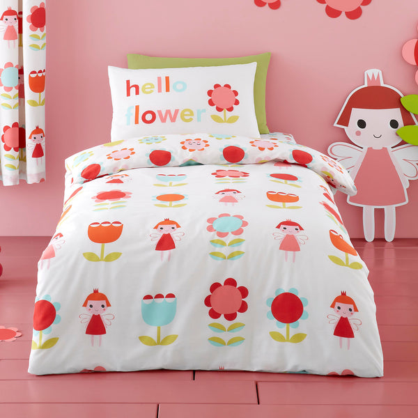 Fairy Garden - Children's Duvet Cover Set & Curtains by Cosatto