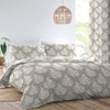 Fern - Easy Care Bedding & Eyelet Curtains in Natural - by Dreams & Drapes